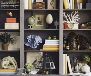 Bookshelf Vignette